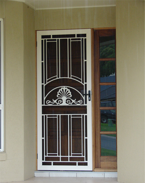 Security Doors Amp Screens Cast Panel Doors Clearshield
