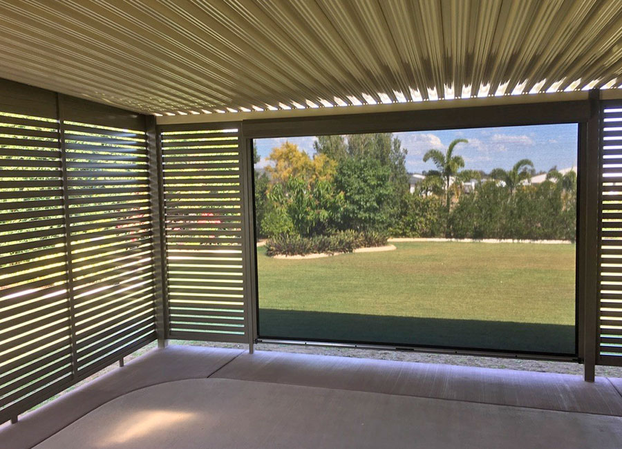 Awnings Rockhampton Slatting Panels Amp Patio Enclosures