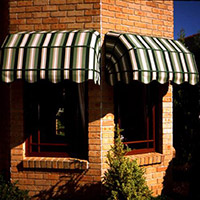 1. Canopy Fabric Awnings