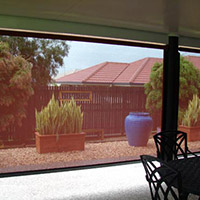 1. Channel Roll-up Fabric Awnings