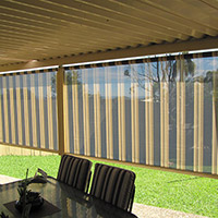 11. Channel Roll-up Fabric Awnings