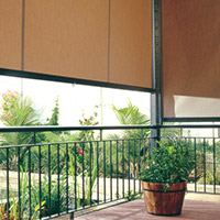 3. Channel Roll-up Fabric Awnings