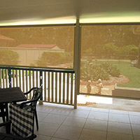 6. Channel Roll-up Fabric Awnings