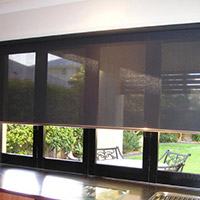 1. Sunscreen Chain Controlled Roller Blinds