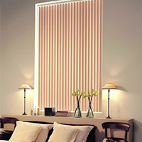 2. Vertical Drapes